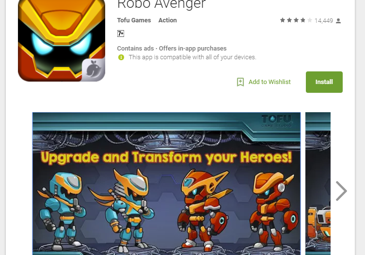 Robo Avenger